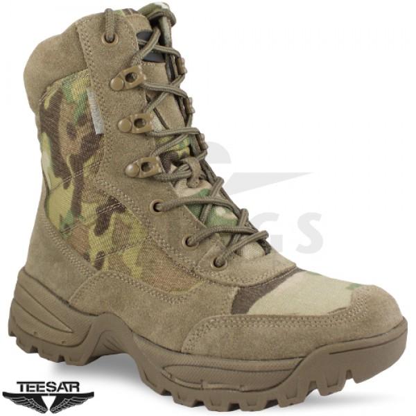 Mil-tec Teesar Zip Boots multicamo