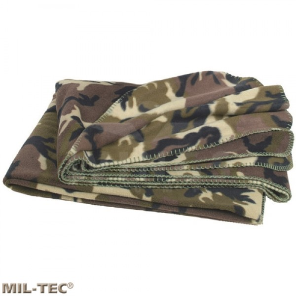 Mil-tec fleece deken camo