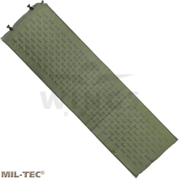 Mil-tec selfinflating matras groen
