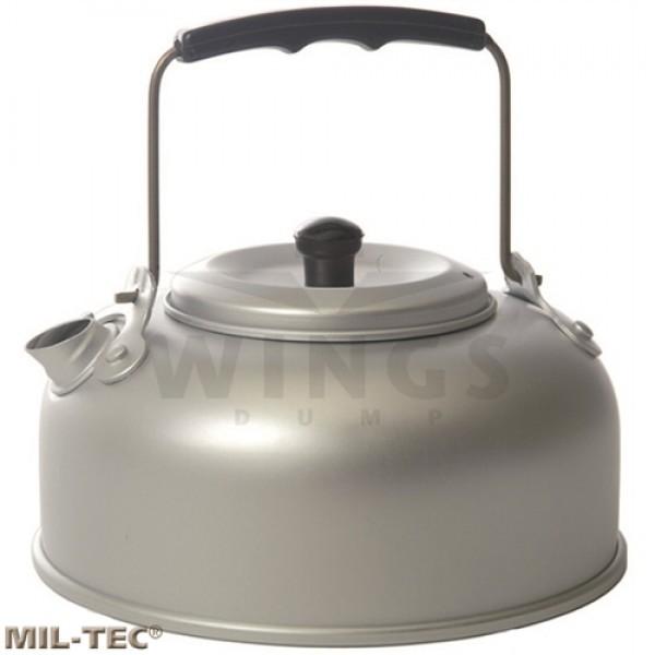 Waterketel 0,8 ltr. aluminium