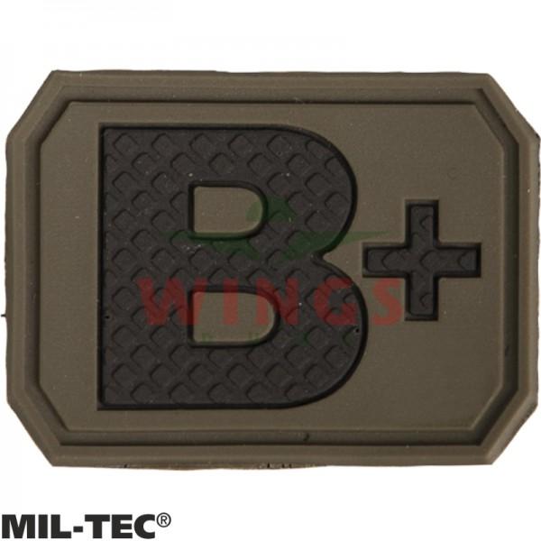 Embleem 3D pvc Mil-tec B-pos