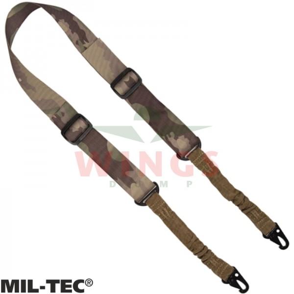 Mil-tec 2-point sling met twee dempers multicamo