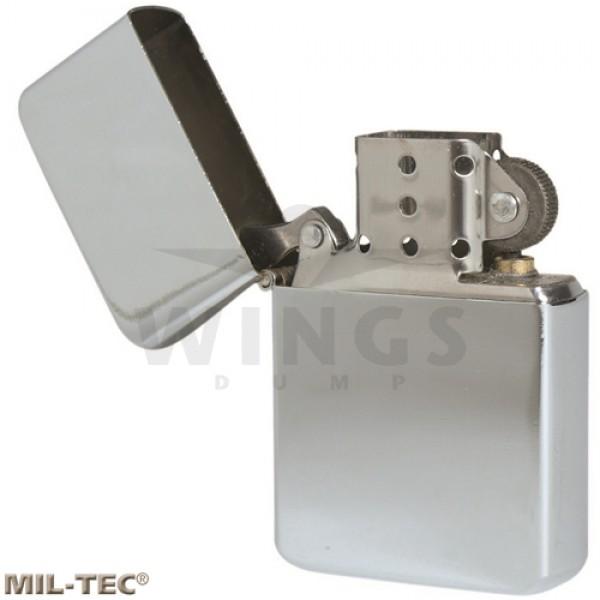 Benzine aansteker Mil-tec chroom