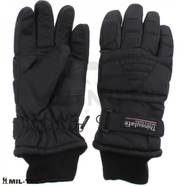 Handschoen Mil-tec Thinsulate zwart