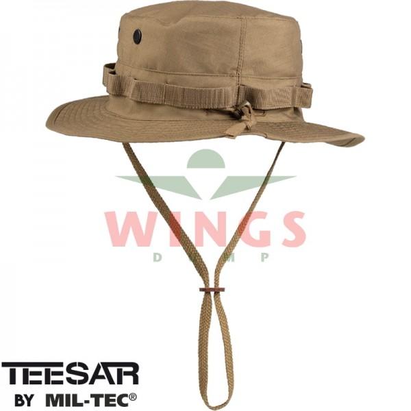 Bush hoed ripstop verstelbaar coyote tan