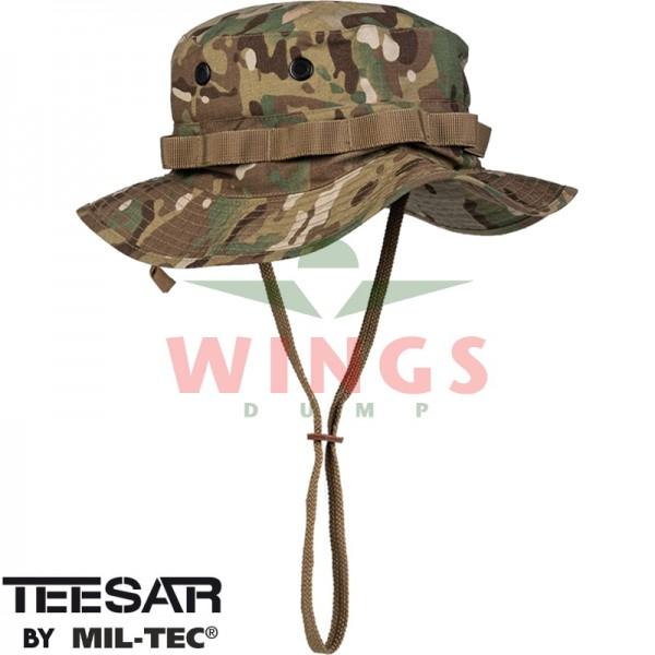 Bush hoed ripstop verstelbaar DTC camo