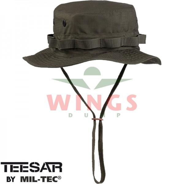 Bush hoed ripstop verstelbaar olive