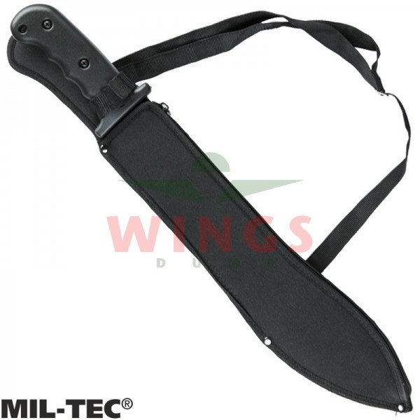 Kapmes Mil-tec 53 cm. hunting rvs zwart