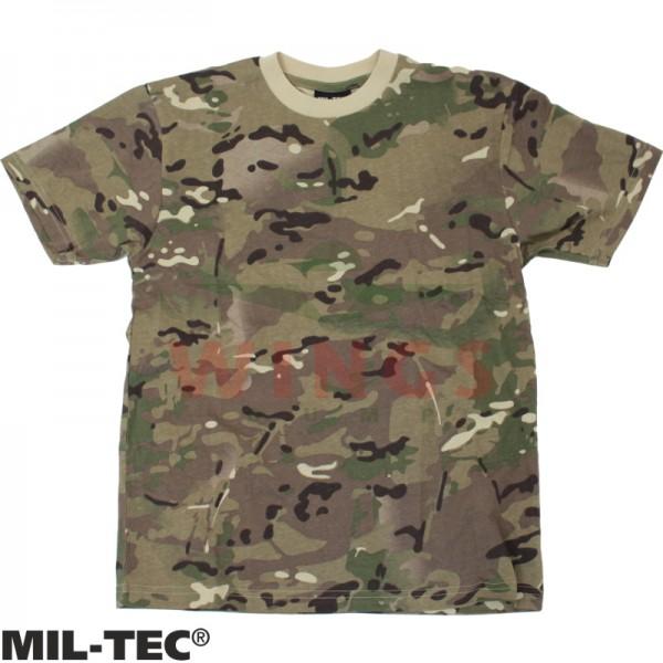 Kinder t-shirt Mil-tec DTC camo