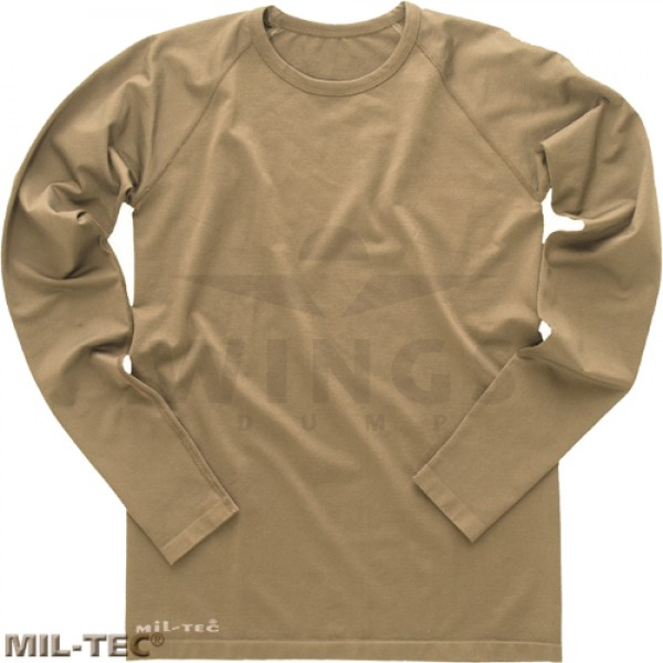 Mil-tec tactical longsleeve coyote tan