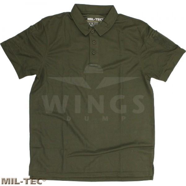 Mil-tec tactical poloshirt armygreen