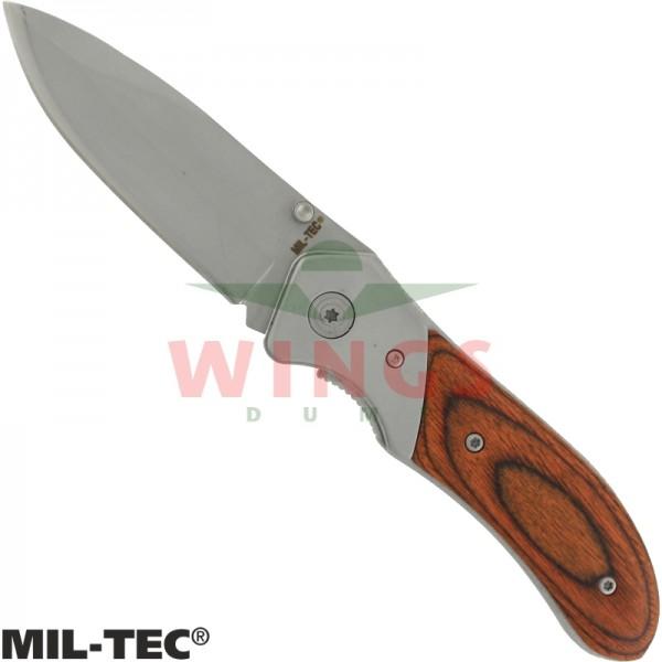 Lockmes Mil-tec 203mm wood rvs