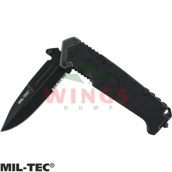 Lockmes Mil-tec Assault zwart halfauto