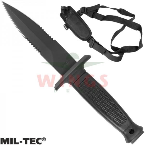 Bootknife Mil-tec met schouderholster