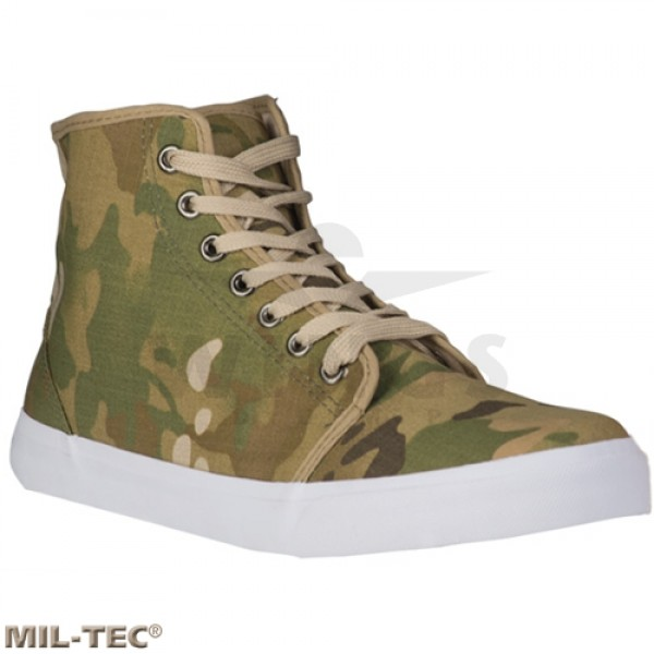 Mil-tec army sneakers multicamo