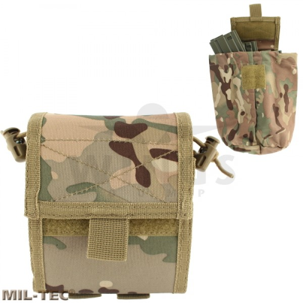 Mil-tec Molle collapsible mag dump pouch DTC camo