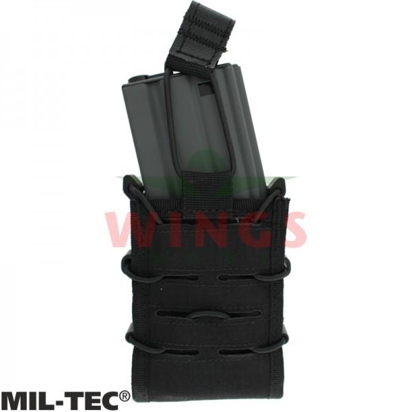Mil-tec Molle flex M4/M16 mag pouch zwart