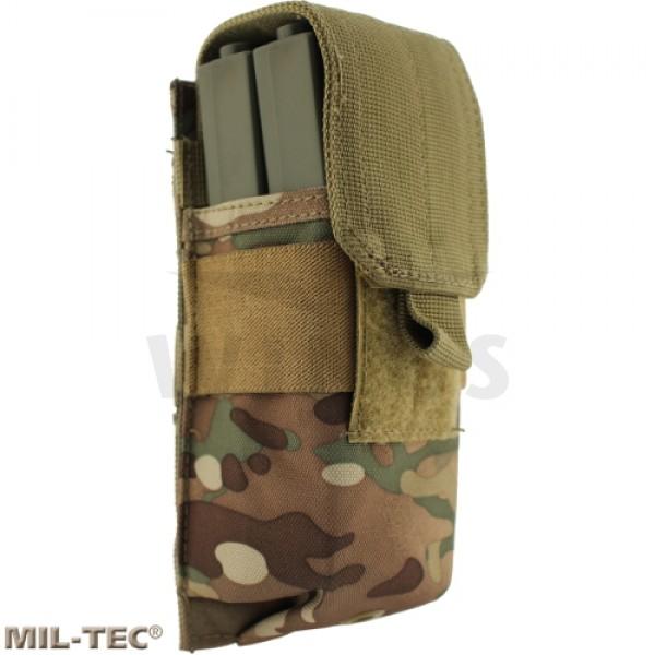 Mil-tec Molle M4/M16 mag pouch multicamo