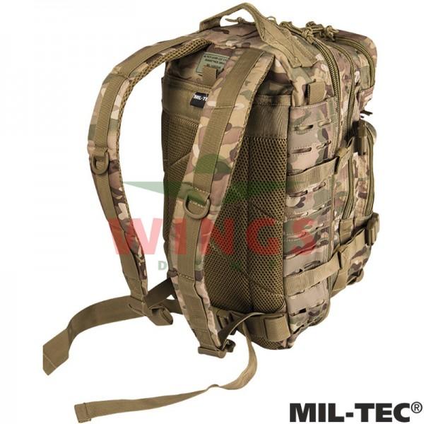 Mil-tec Assault Pack rugzak 30 ltr. lasercut DTC camo