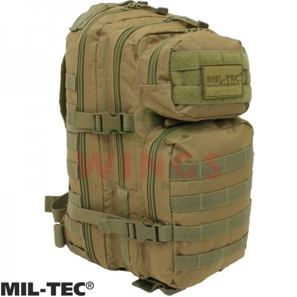 Mil-tec Assault Pack rugzak 30 ltr. coyote tan