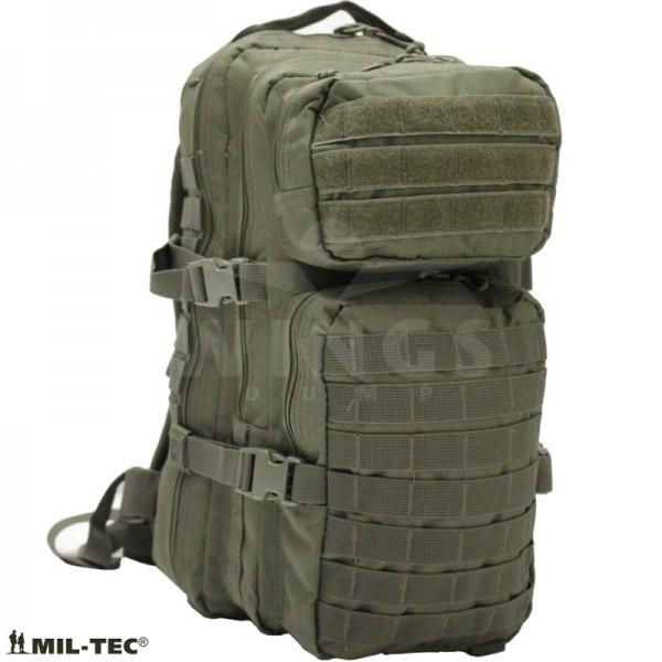Mil-tec Assault Pack rugzak 30 ltr. groen