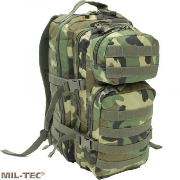 Mil-tec Assault Pack rugzak 30 ltr. woodland camo