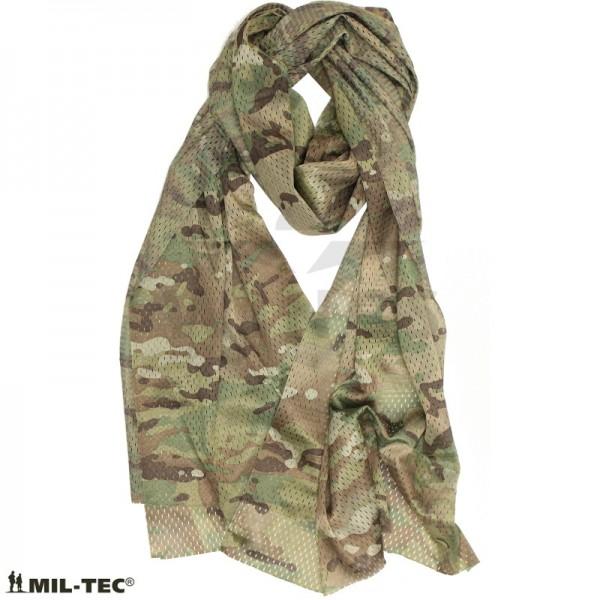 Net sjaal mesh 190x50 cm multicamo