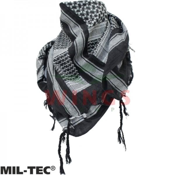 Plo sjaal Mil-tec zwart wit