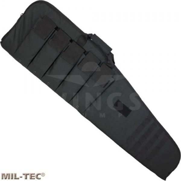 Wapentas Mil-tec zwart 117x30 +5 vakken