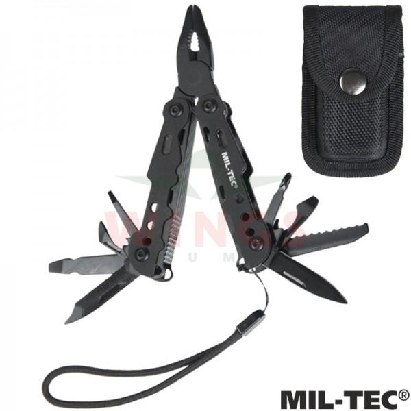 Mil-tec Black Small Multitool
