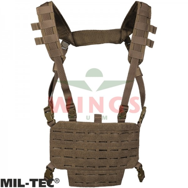 Mil-tec chest rig lightweight coyote tan