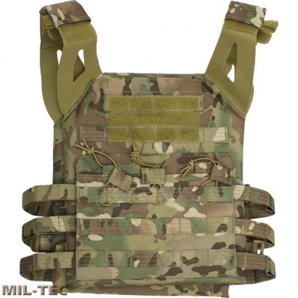 Mil-tec Gen.2 plate carrier vest DTC camo