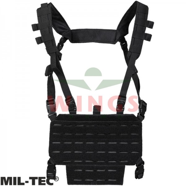 Mil-tec chest rig lightweight zwart