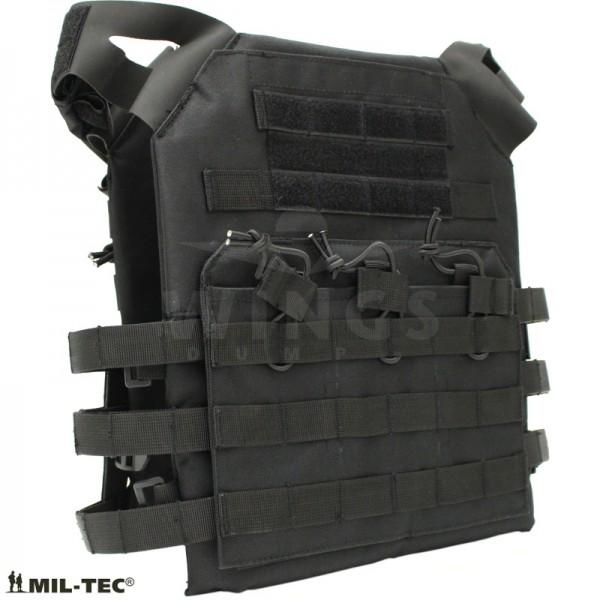 Mil-tec Gen.2 plate carrier vest zwart
