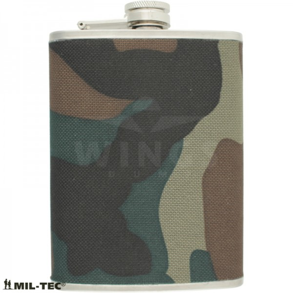 Zakflacon Mil-tec woodland 240 ml