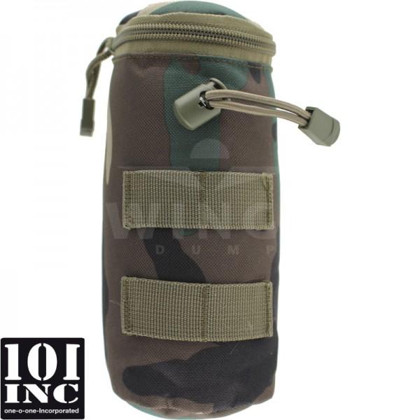 Molle system bottle pouch 20cm. woodland camo