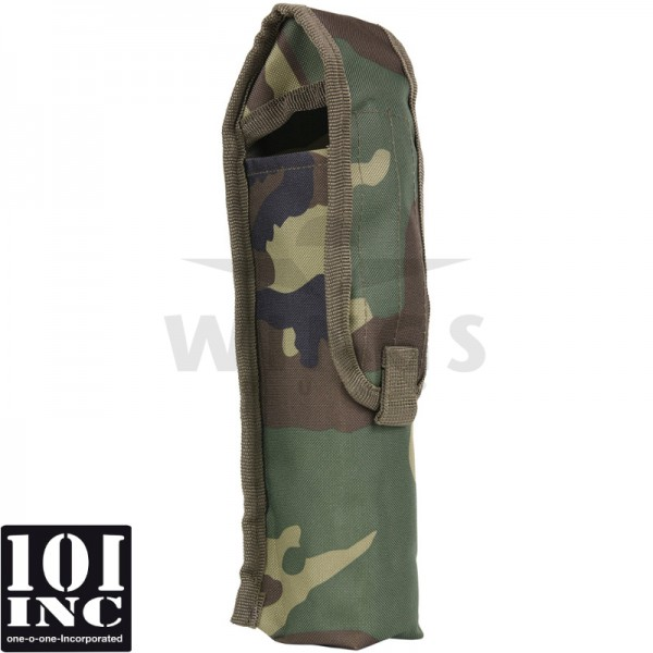 Molle system greengas bottle pouch woodland