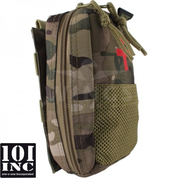 Molle IFAK detachable pouch multicamo
