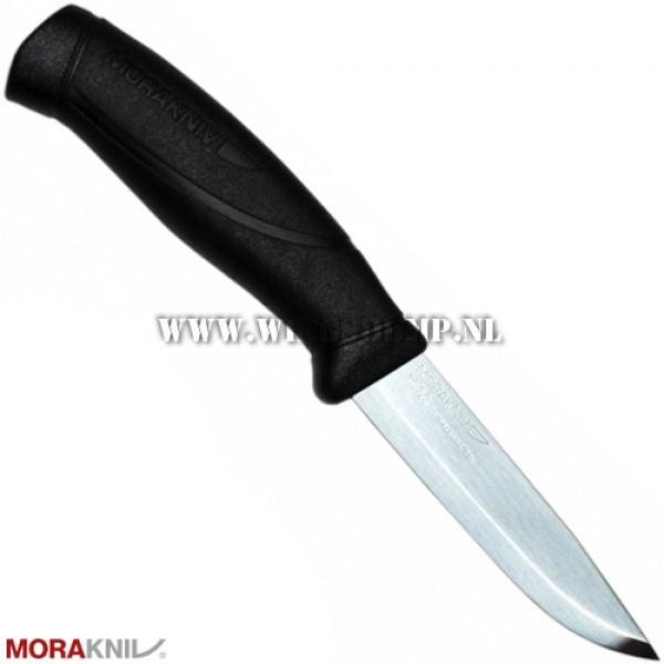 Mora Companion mes 219 mm zwart rvs