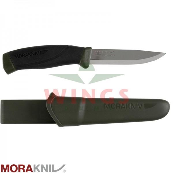 Mora Companion mes 219 mm groen rvs
