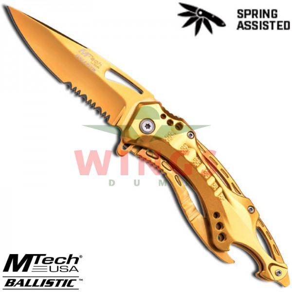 Mtech lockmes 204 mm total gold halfauto