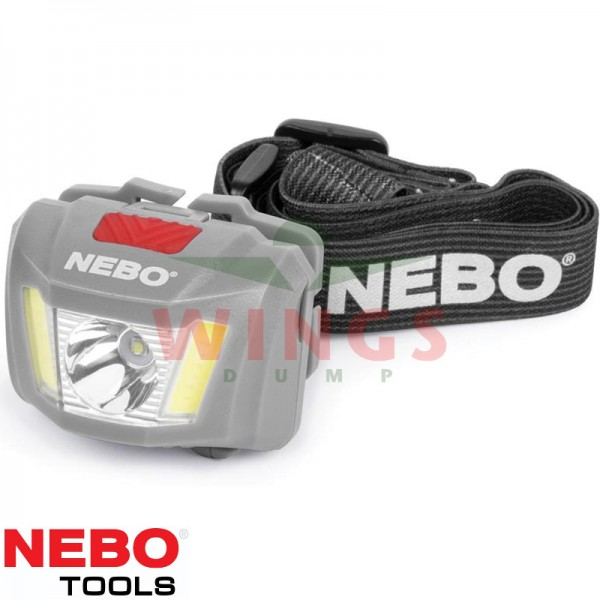 Nebo Duo hoofdlamp met witte en rode led