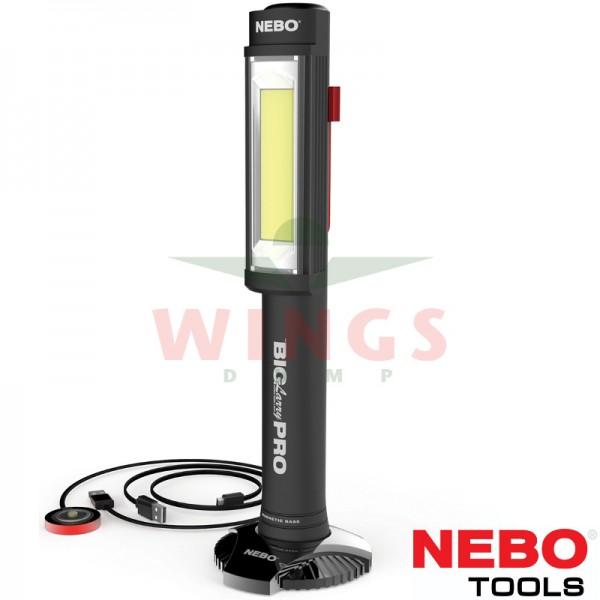 Nebo ledlamp Big Larry Pro Rechargeable