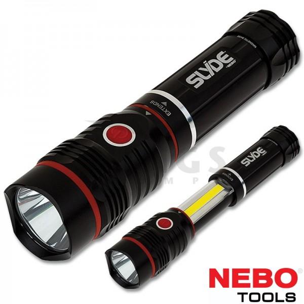 Nebo Slyde King rechargeable ledlamp