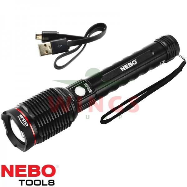 Nebo Redline 6K rechargeable zoom ledlamp