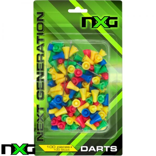 Blaaspijp pijltjes NXG 100 stuks