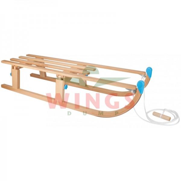 Nijdam opvouwbare houten slee