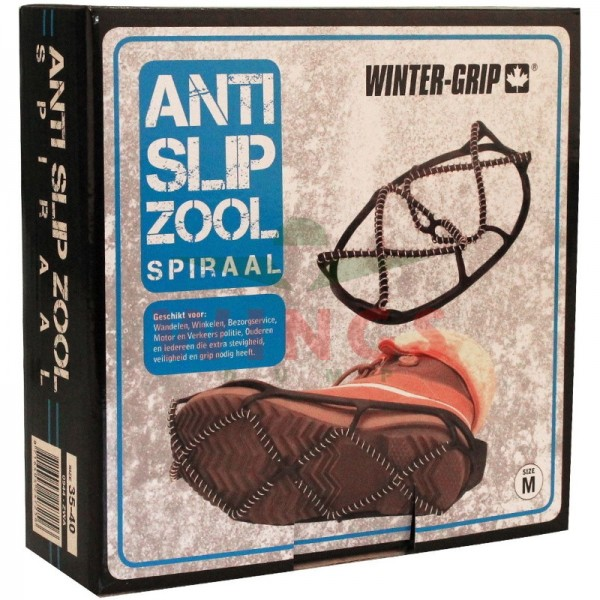 Wintergrip anti-slipzool spiraal