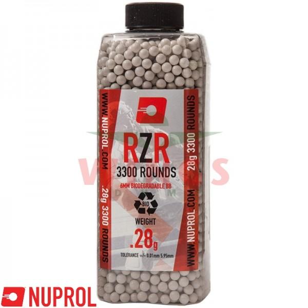Nuprol RZR bio bb's 0,28 gram 3300 stuks
