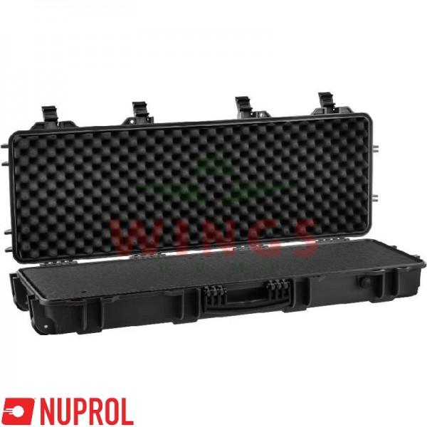 Wapenkoffer Nuprol Large zwart met plukfoam